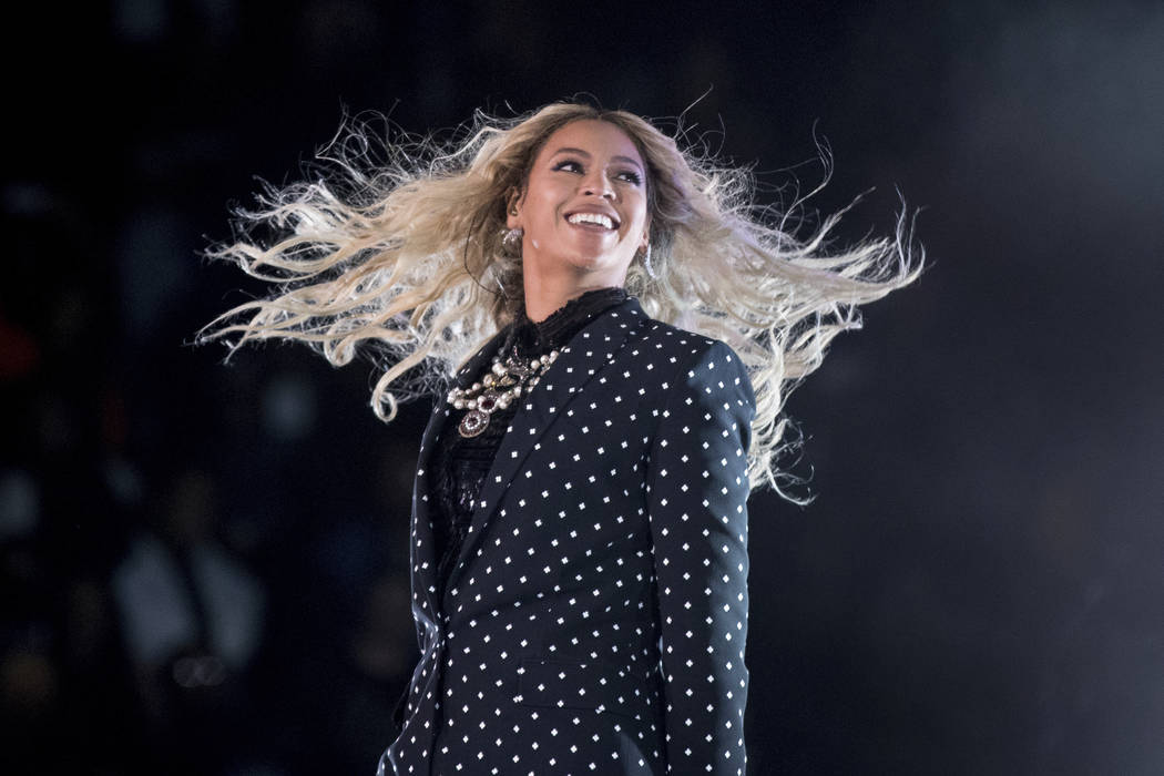 Beyonce performs at a Get Out the Vote concert on Nov. 4, 2016 in Cleveland. Beyonce, Blake Shelton, Barbra Streisand and Oprah Winfrey will headline a one-hour benefit telethon to benefit Hurrica ...