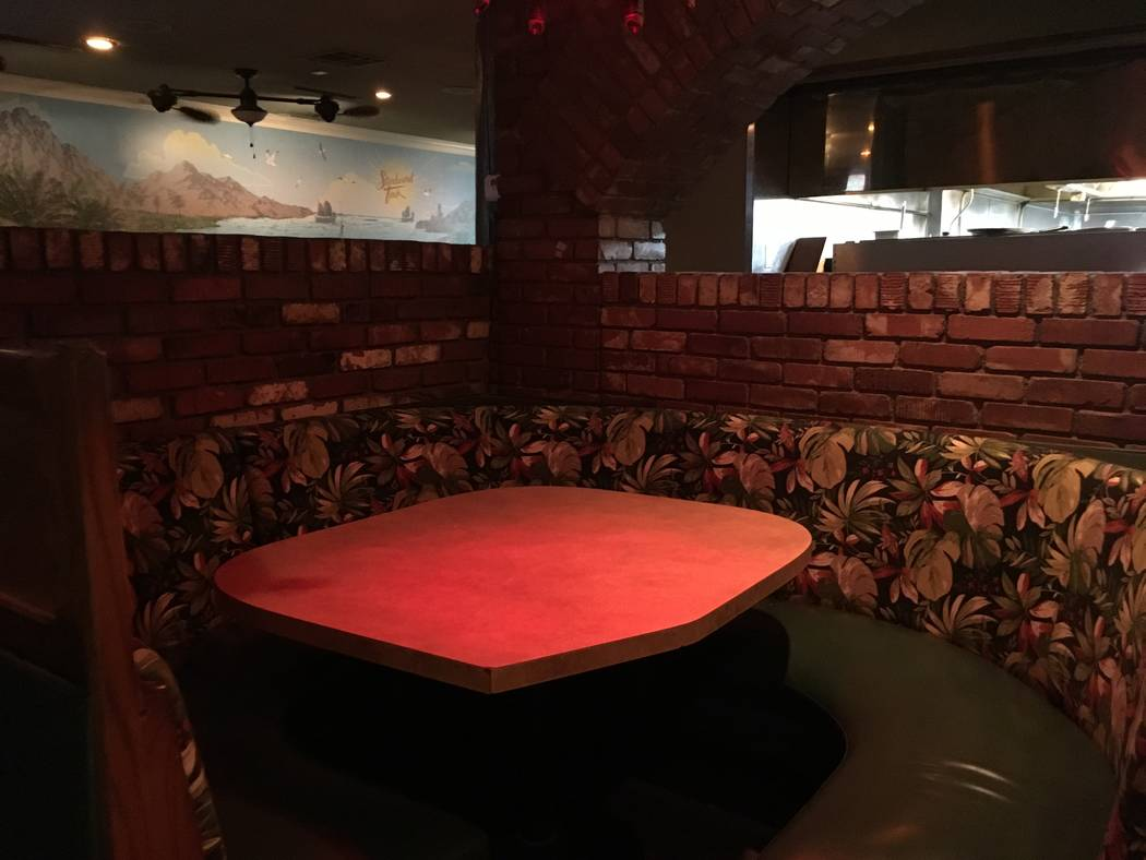 The Starboard Tack opened March 23, and the bar switched to offering 24-hour service in May. (Katelyn Umholtz/Las Vegas Review-Journal) @kumh0ltz