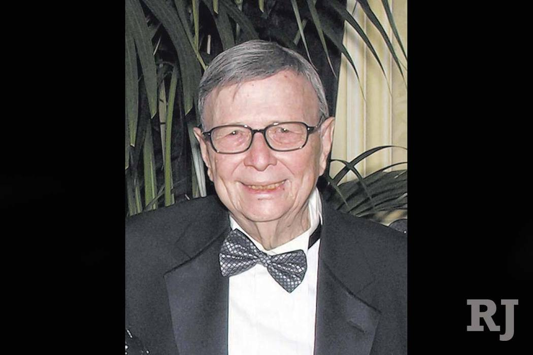 Irwin Kishner (Las Vegas Review-Journal)