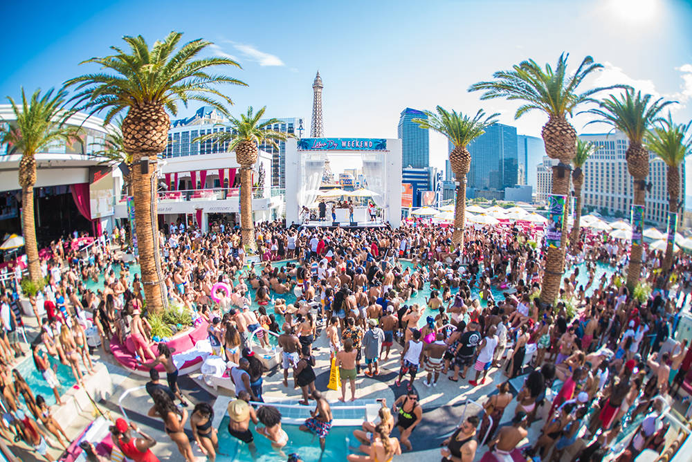 drais beach club pool party - vip guest list - vegas pool party promoter and host