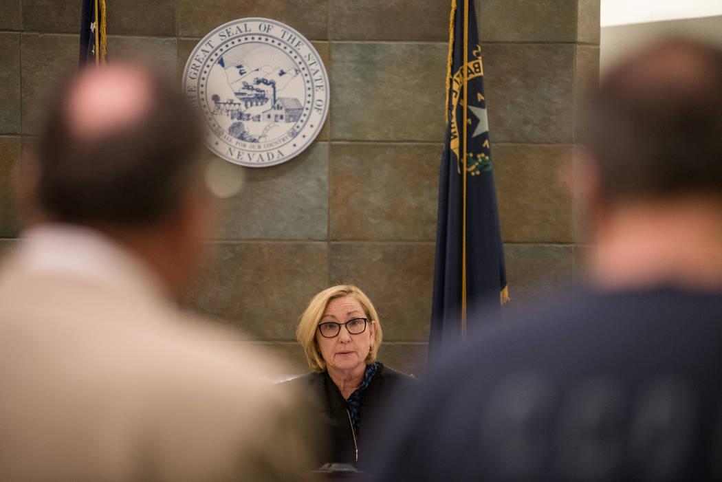 District Court Judge Kerry Earley during Robert Graham's court hearing on Thursday, Sep. 7, 2017, at Regional Justice Center in Las Vegas. Morgan Lieberman Las Vegas Review-Journal