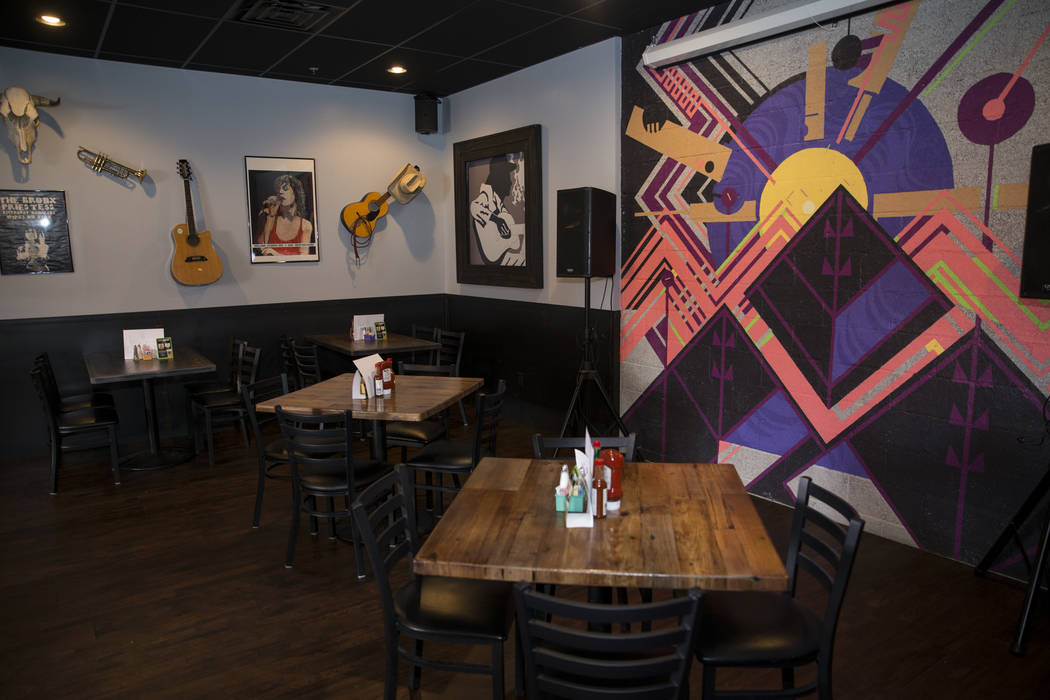 The Tap restaurant and bar in Boulder City, Saturday, Sept. 9, 2017. Erik Verduzco Las Vegas Review-Journal @Erik_Verduzco