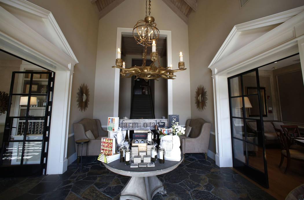 Chalk Hill Estate Vineyards and Winery testing rooms in Healdsburg, Calif., on Wednesday, Aug. 2, 2017. Bizuayehu Tesfaye Las Vegas Review-Journal @bizutesfaye