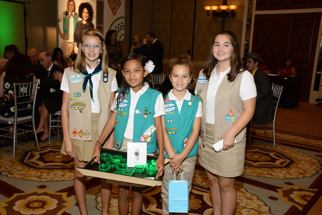 Girl Scouts' Dessert Before Dinner Gala. Vox Solid Communications