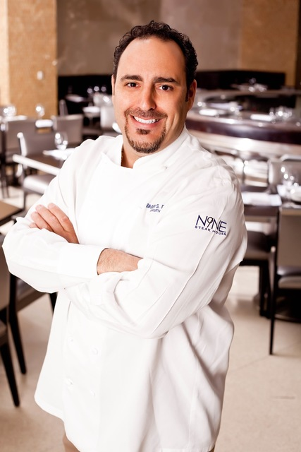 Chef Barry S. Dakake of N9NE Steakhouse at The Palms.