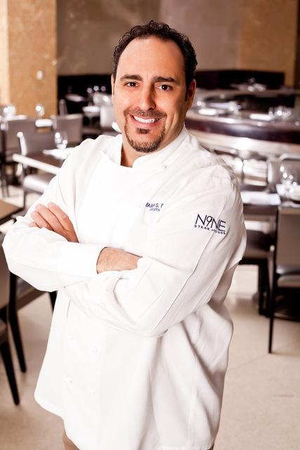 Chef Barry S. Dakake of N9NE Steakhouse at The Palms.