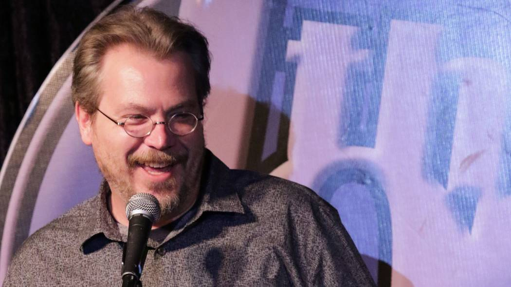 """Describing himself as a """"palate cleanser"""" between acts, Dan Fritschie will host the competitions."""