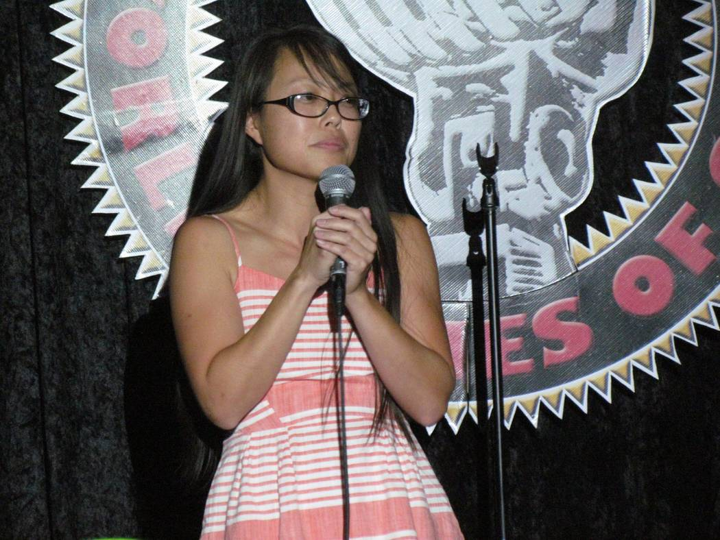 Pauline Yasuda plans to bring her comic A-game as a contestant.