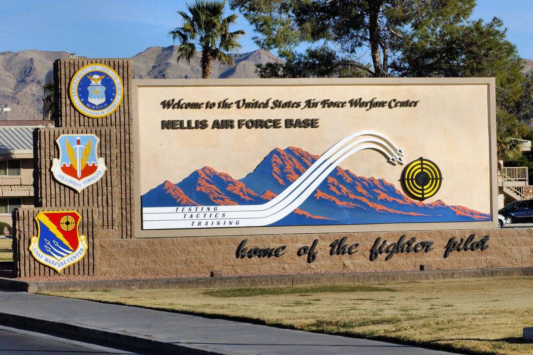 Nellis Air Force Base in Las Vegas  (Facebook/Nellis Air Force Base)