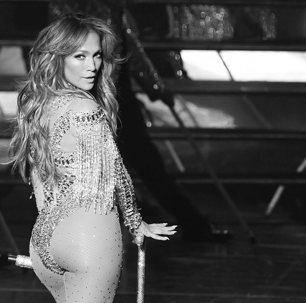 LAS VEGAS, NV - MAY 22:  Jennifer Lopez performs during JENNIFER LOPEZ: ALL I HAVE...The Vegas Return At The AXIS At Planet Hollywood Resort & Casino on May 22, 2016 in Las Vegas, Nevada.  (Ph ...