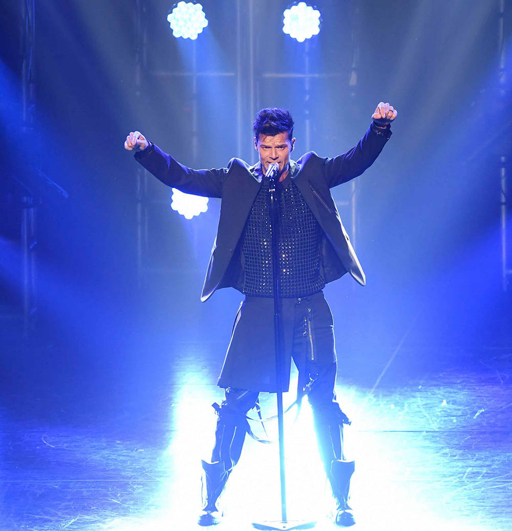 """Ricky Martin's """"All In"""" residency resumes Sept. 12 at the Monte Carlo's Park Theater. (Denise Truscello)"""
