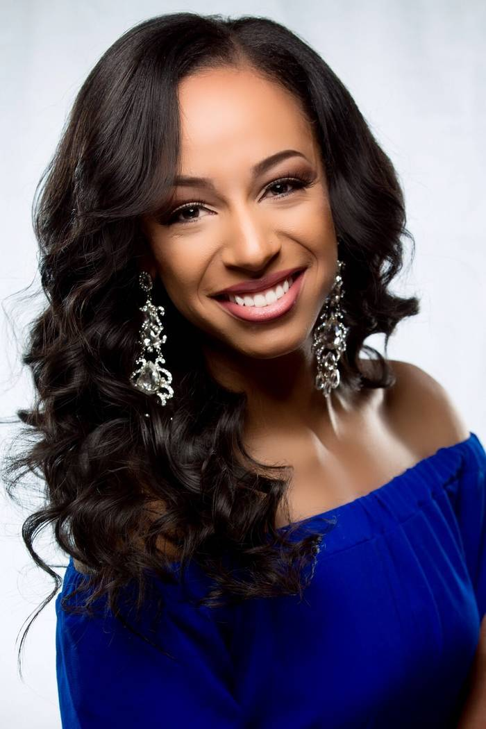 Miss Nevada Andrea Martinez will compete in the Miss America pageant in Atlantic City tonight (Sept. 10). (Courtesy)