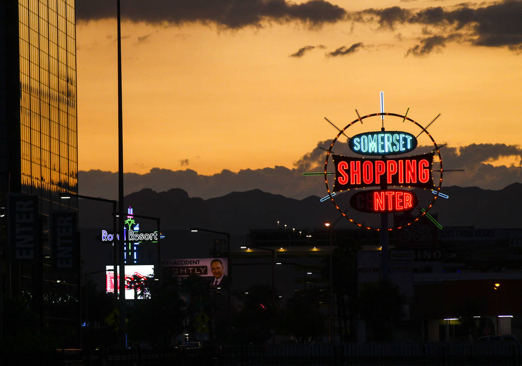 Somerset Shopping Center in Las Vegas on Thursday, Sept. 7, 2017. Chase Stevens Las Vegas Review-Journal @csstevensphoto
