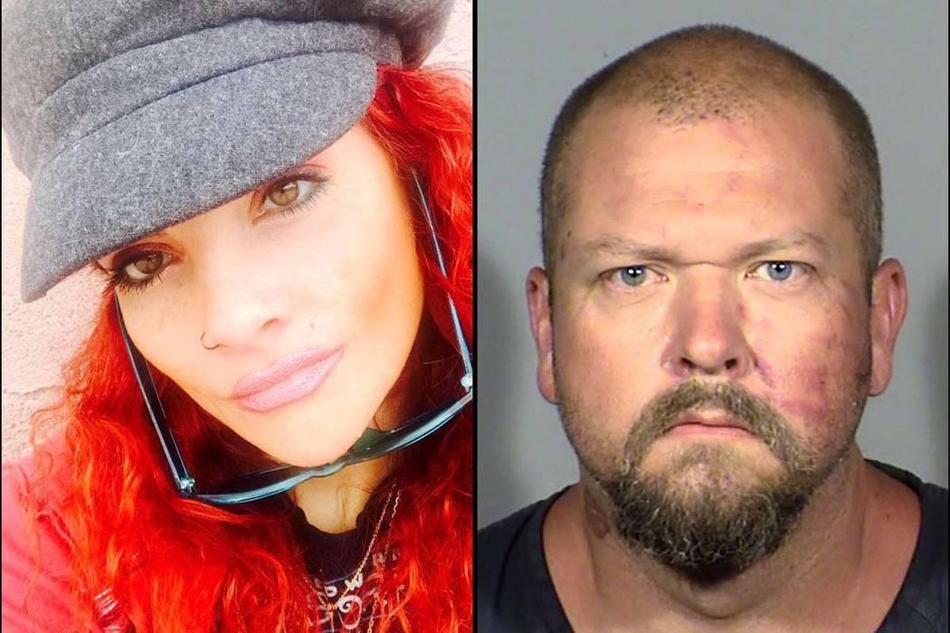 Stella Martinez and Christopher Wood (Facebook/Las Vegas Metropolitan Police Department)