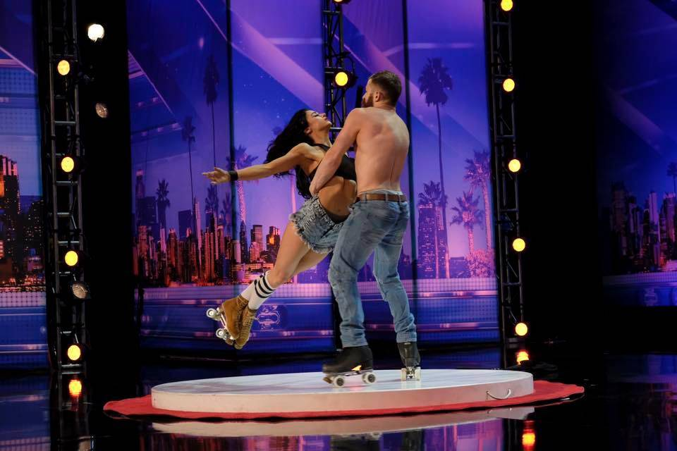 "Billy and Emily England of ""Absinthe"" have advanced to the semifinals of NBC's ""America's Got Talent."" (NBC)"