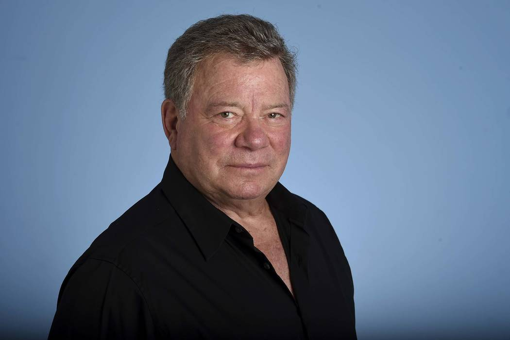 "In this May 22, 2017 photo, William Shatner poses for a portrait. As ""Star Trek II: The Wrath of Khan"" marks its 35th anniversary with a return to theaters for special screenings next week, st ..."