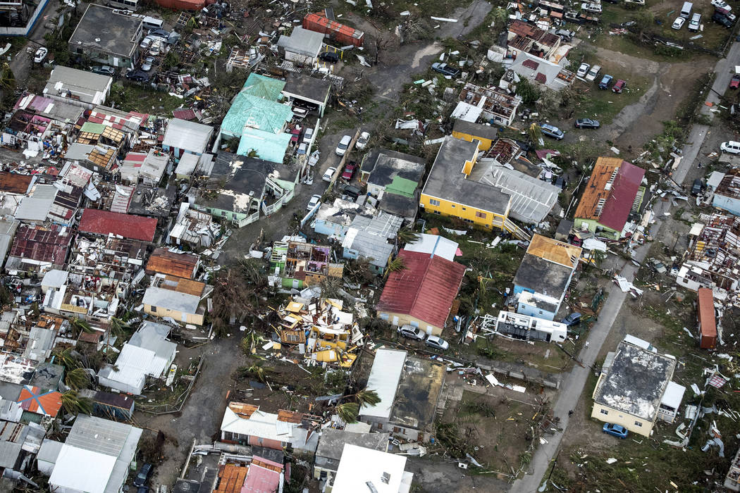 Irma cut a path of devastation across the northern Caribbean, leaving thousands homeless after destroying buildings and uprooting trees. Significant damage was reported on the island that is split ...