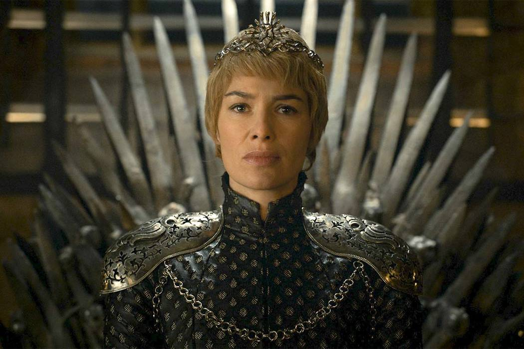 "This file image released by HBO shows Lena Headey as Cersei Lannister in a scene from ""Game of Thrones."" How would Cersei Lannister deal with the shows seventh season being pirated more than 1 bil ..."