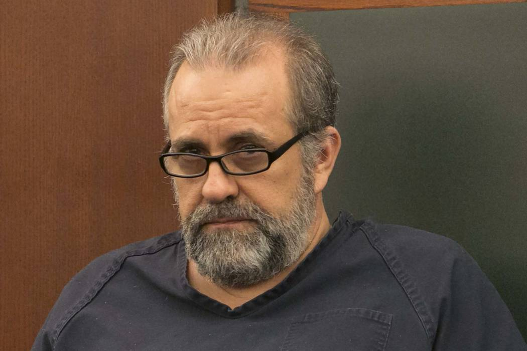 Jailed estate lawyer Robert Graham pleaded guilty on Thursday to stealing more than $16 million from his clients. (Bizuayehu Tesfaye/Las Vegas Review-Journal) @bizutesfaye