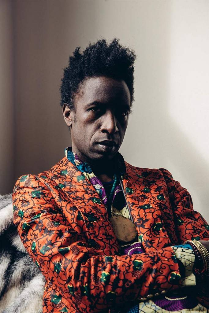 A portrait of Saul Williams. (Courtesy of Vogue Robinson)