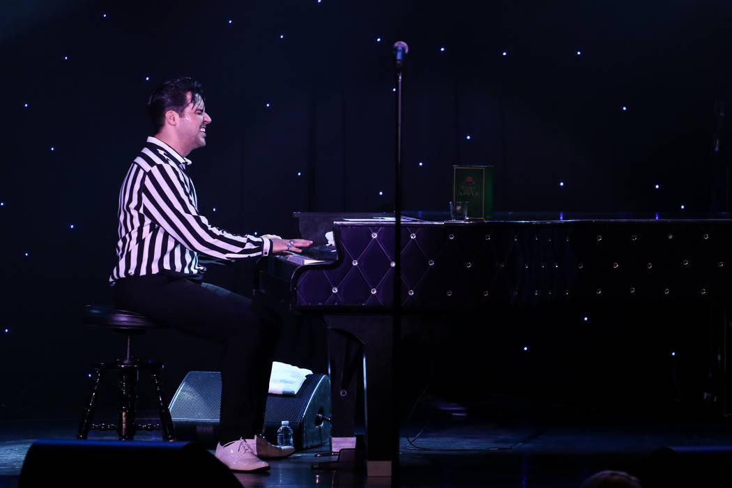 Frankie Moreno plays at the Suncoast Showroom in Las Vegas, Saturday, Sept. 9, 2017. Joel Angel Juarez Las Vegas Review-Journal @jajuarezphoto