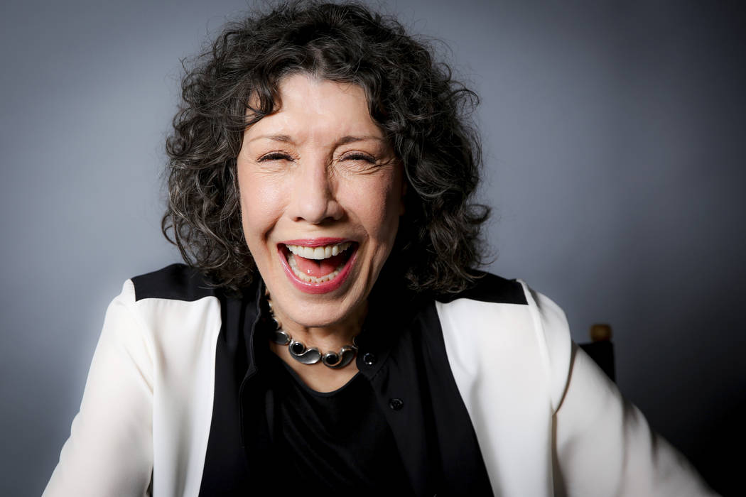 In this Oct. 26, 2016 photo, Lily Tomlin poses for a portrait in Los Angeles. (Photo by Rich Fury/Invision/AP)