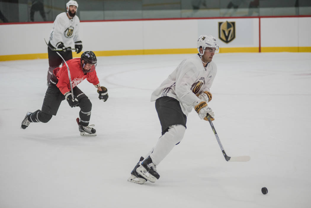 Vegas Golden Knights forward Alex Tuch at City National Arena on Tuesday, Sep. 5, 2017, in Summerlin. Morgan Lieberman Las Vegas Review-Journal