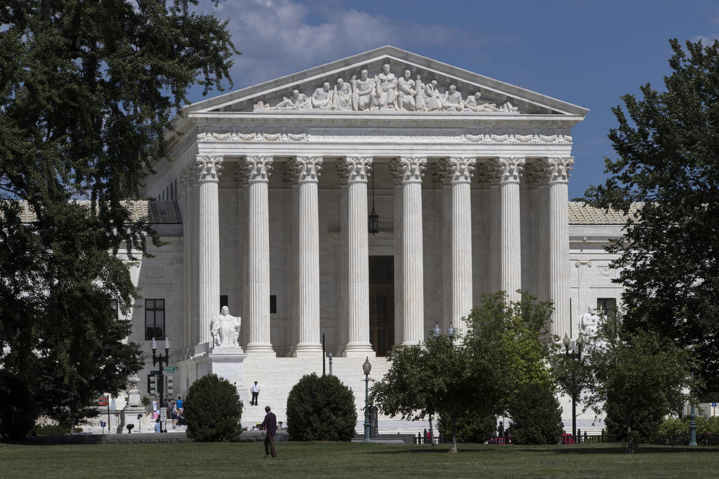 The U.S. Supreme Court building in Washington, D.C. (J. Scott Applewhite/AP)