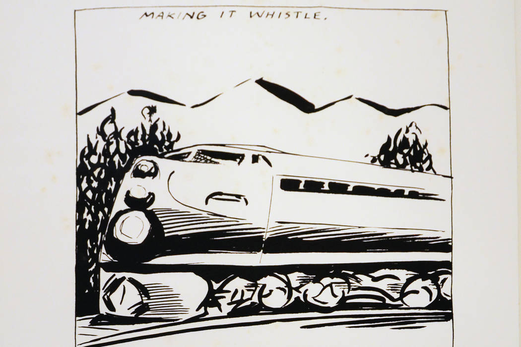"Raymond Pettibon's ""Making It Whistle ... "" MCQ Fine Art"