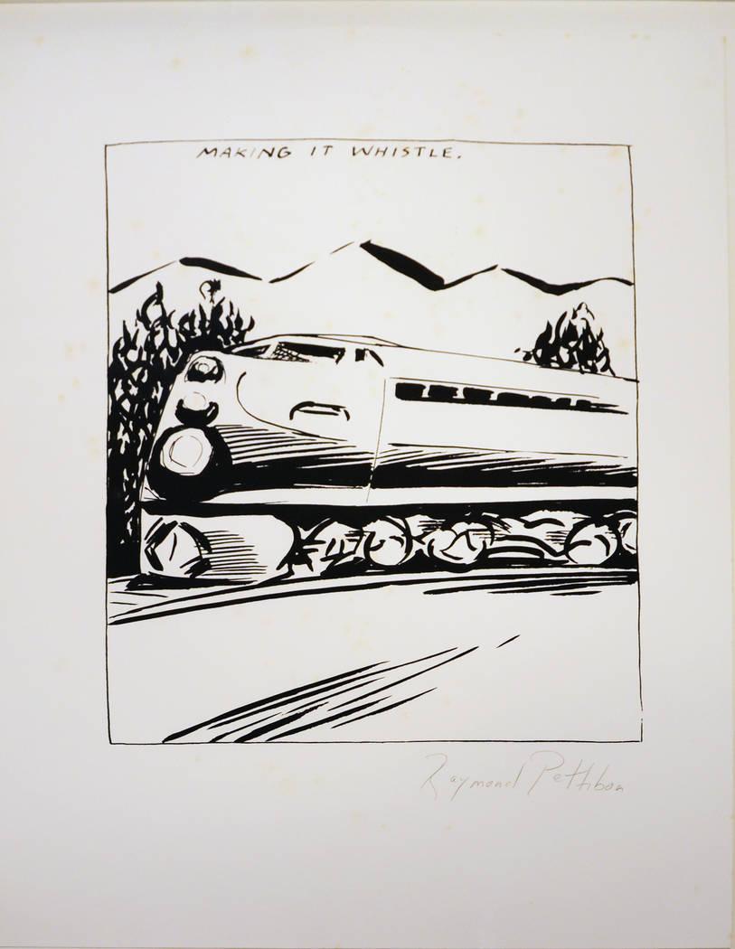 "MCQ Fine Art  Raymond Pettibon's ""Making It Whistle ... """