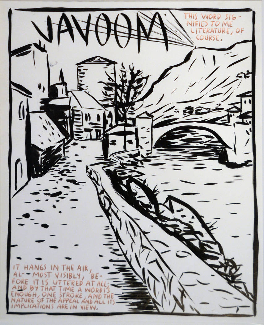 "MCQ Fine Art  Raymond Pettibon's ""This Word Signifies ... """