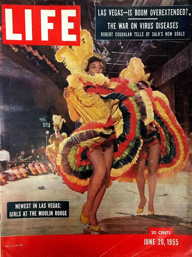 LIFE magazine cover published on June 20, 1955.