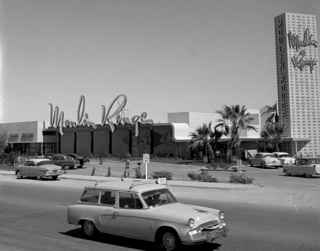 Moulin Rouge circa 1955/Las Vegas News Bureau