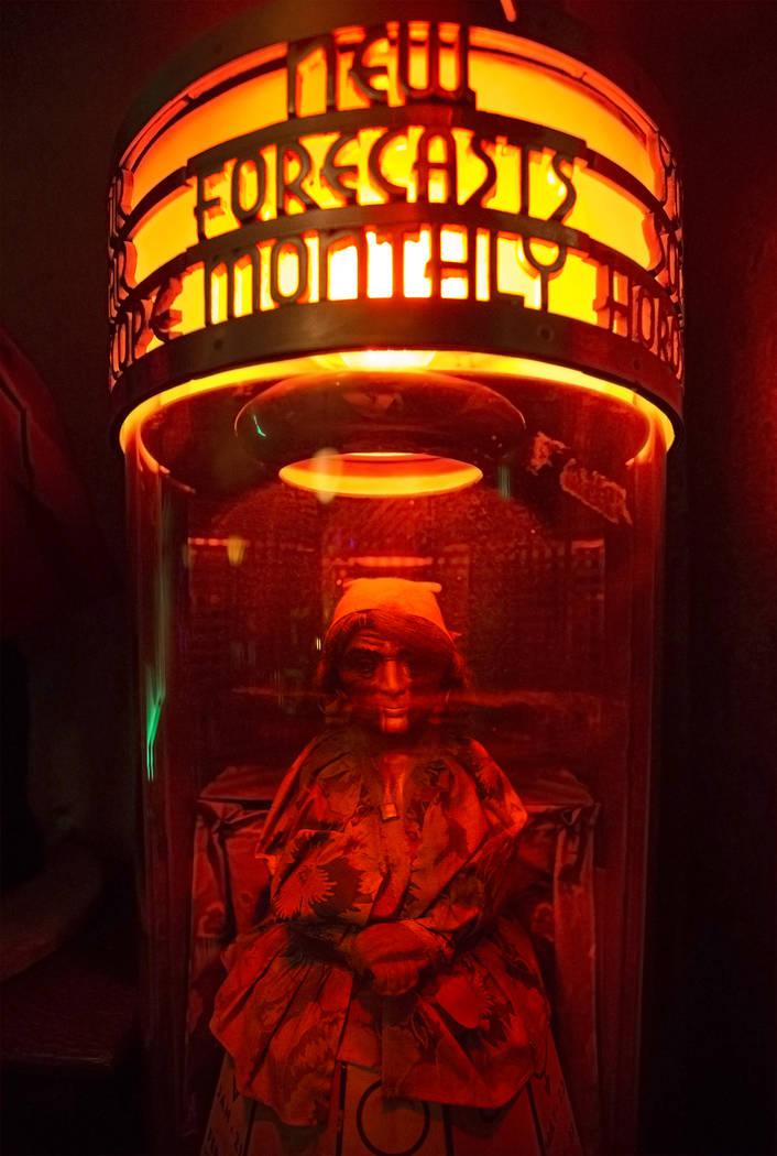 One of hundreds of artifacts on display at Zak Bagans' Haunted Museum on Monday, September 11, 2017, in Las Vegas. Benjamin Hager Las Vegas Review-Journal @benjaminhphoto