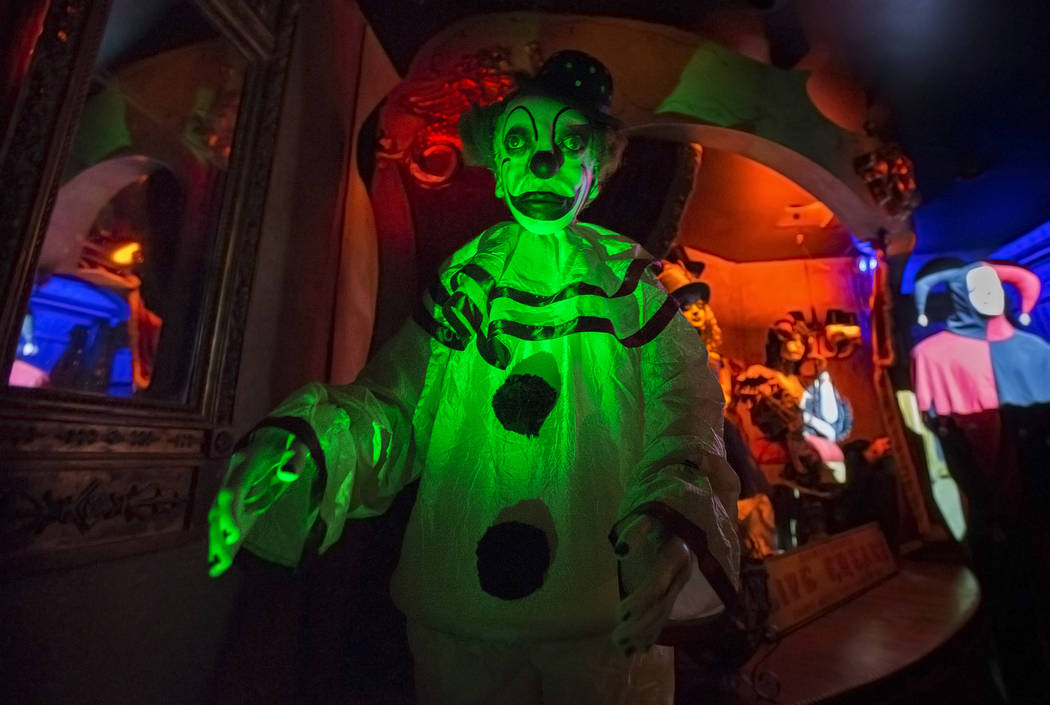 One of hundreds of artifacts on display at Zak Bagans' Haunted Museum on Monday, September 11, 2017, in Las Vegas. Benjamin Hager Las Vegas Review-Journal @benjaminhphoto