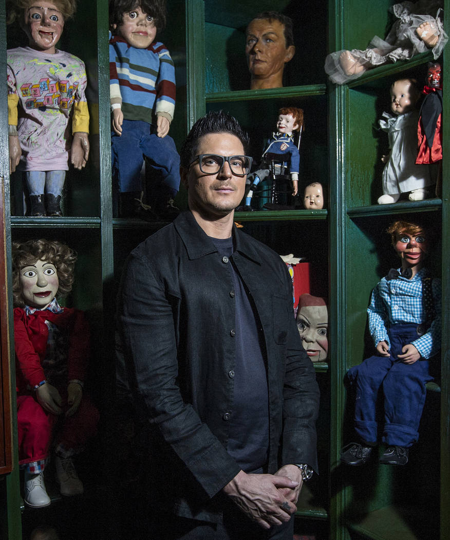 "Zak Bagans, host of Travel Channel's ""Ghost Adventures,"" is opening a haunted museum in a thirty-room, historic downtown Las Vegas mansion. Photo taken on Monday, September 11, 2 ..."