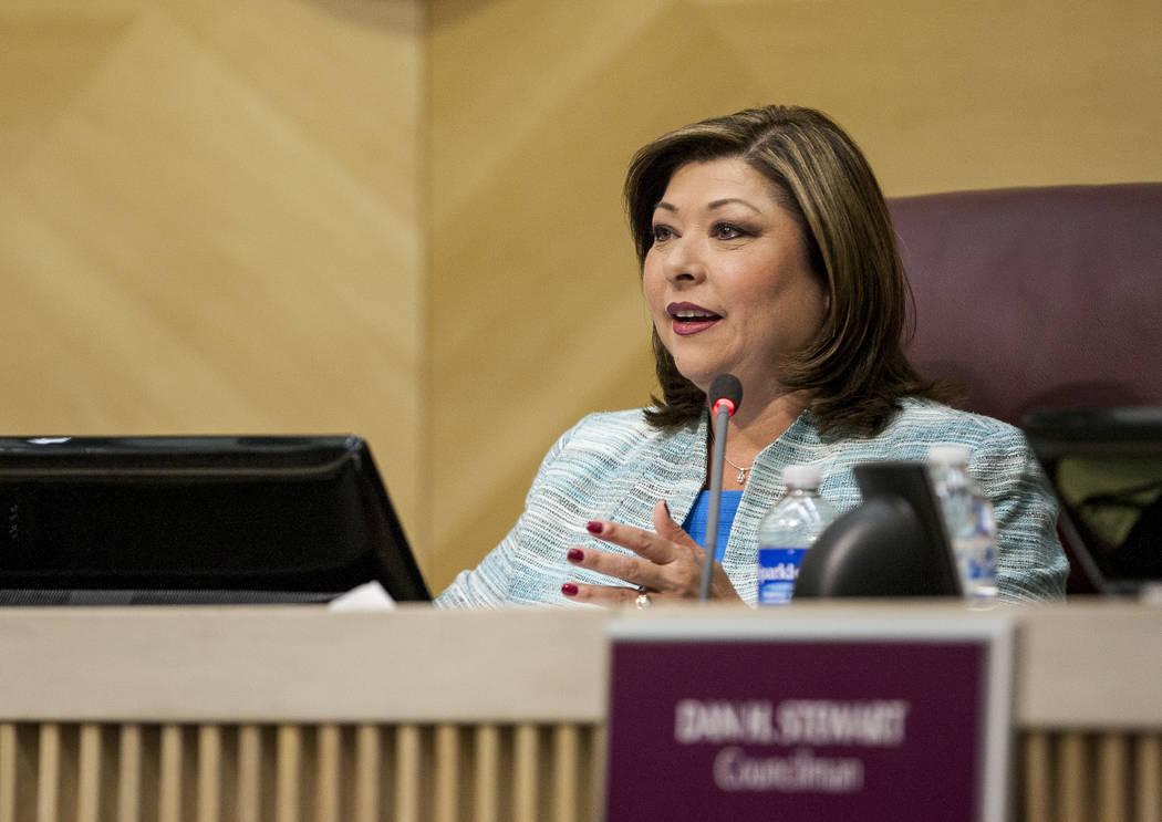 Henderson Councilwoman Gerri Schroder (Patrick Connolly/Las Vegas Review-Journal) @PConnPie