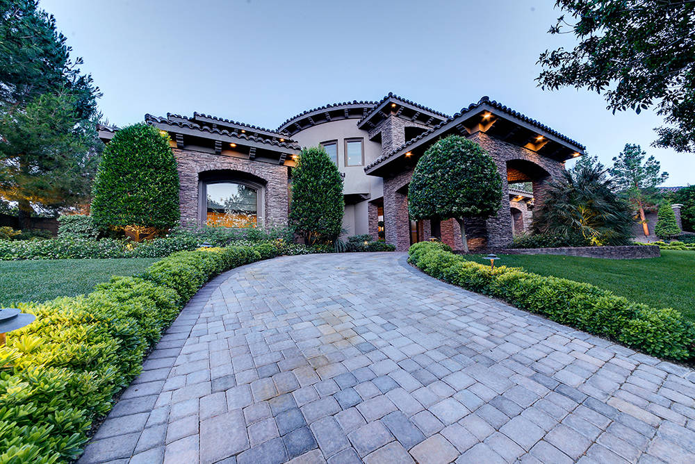 MGM Resorts International executive Bobby Baldwin has placed his Southern Highlands home on the market for $6.25 million. (The Napoli Group)