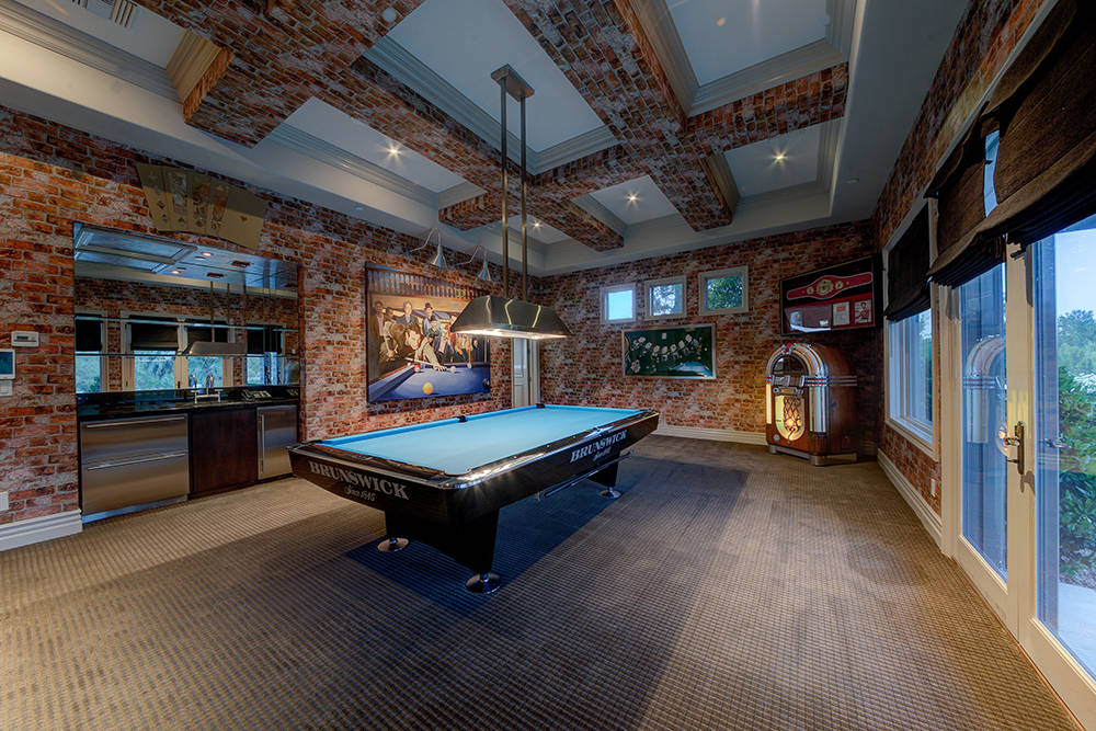 On the first level, there is a game room. (The Napoli Group)
