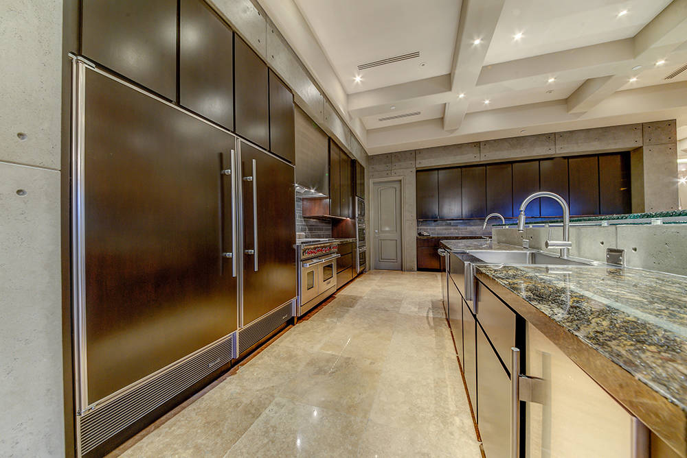 The kitchen has upgraded appliances.  (The Napoli Group)