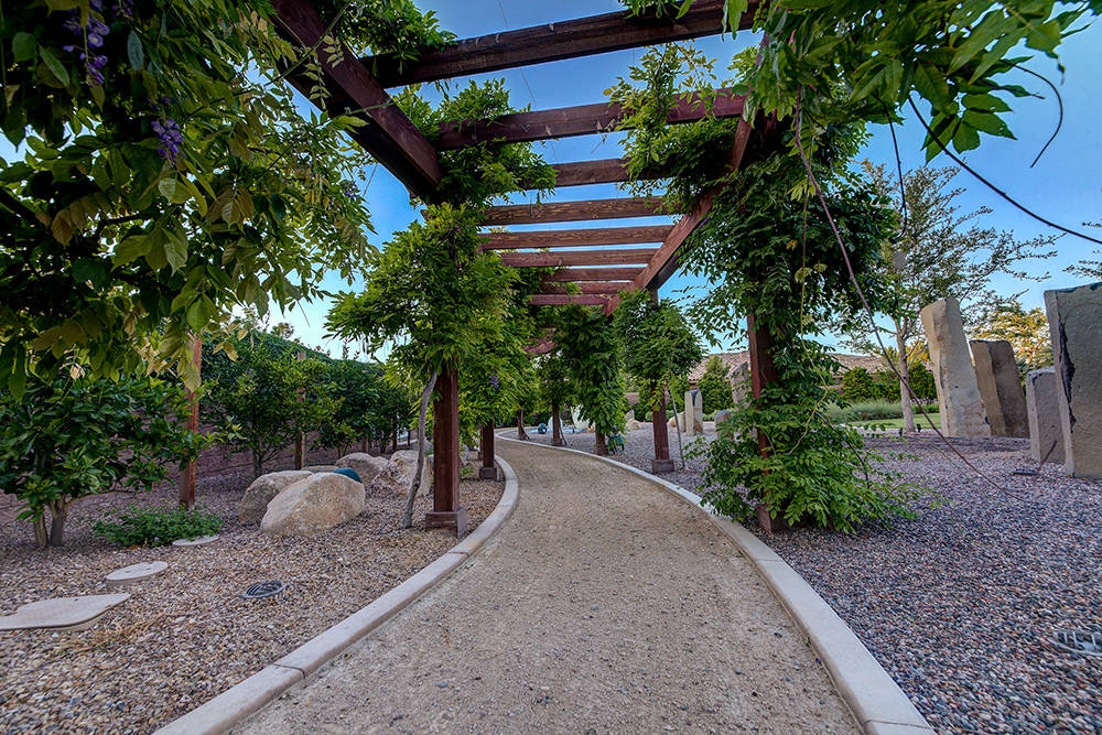 The private park has walking trails. (The Napoli Group)