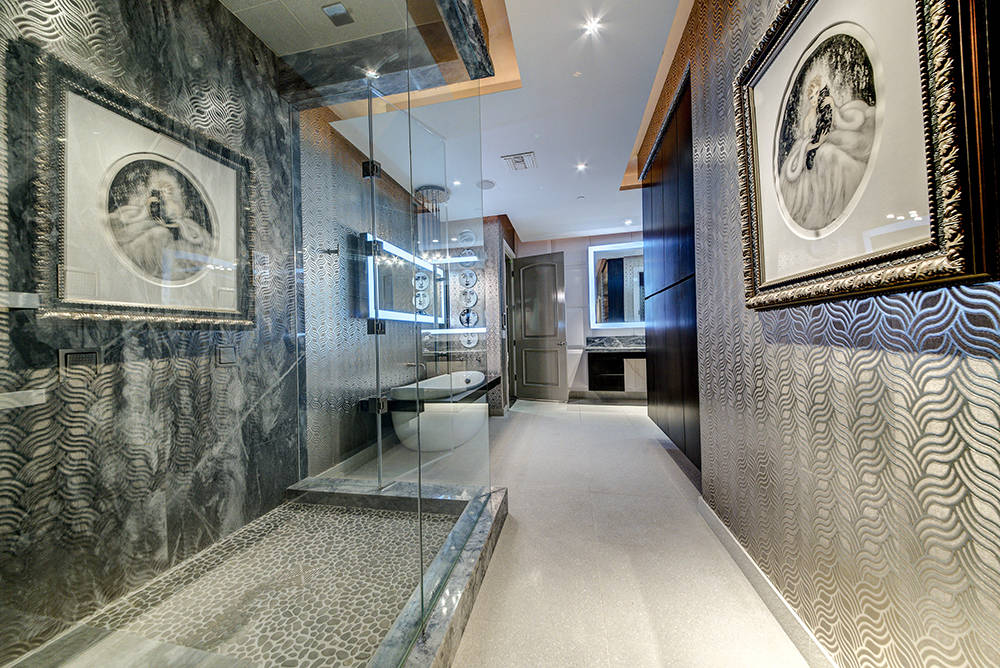 Her master bath. (The Napoli Group)