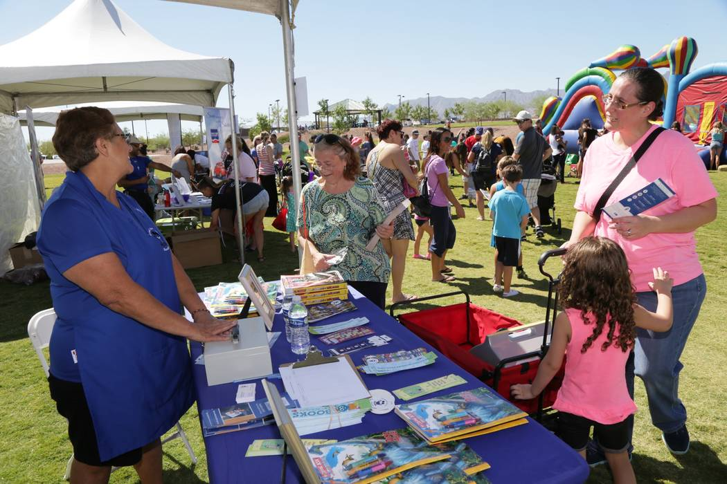 Sunday's Sunny 106.5 Ice Cream event will have booths for Spread the Word Nevada and for people to buy bottled water to benefit the Red Cross hurricane relief efforts. (Providence)