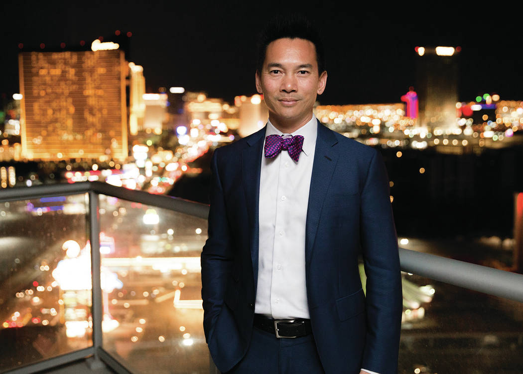 Randy Char Las Vegas real estate expert Randy Char said the north Strip is poised for growth.