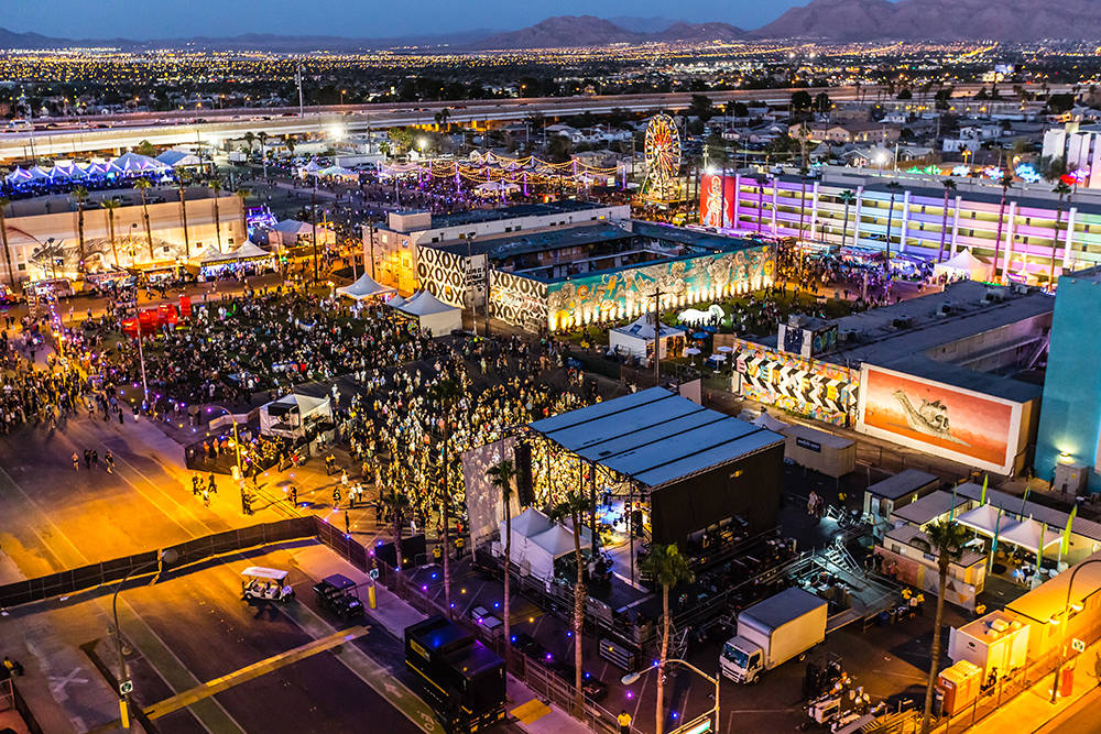 The Ogden Las Vegas is in the heart of the footprint of Life is Beautiful, giving residents a bird's eye view and front row seat to this iconic music/food/art/learning festival that attracted near ...