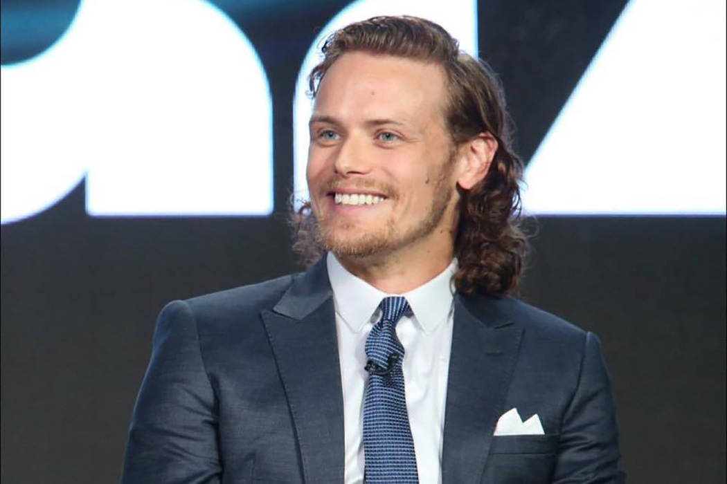 Sam Heughan. Facebook