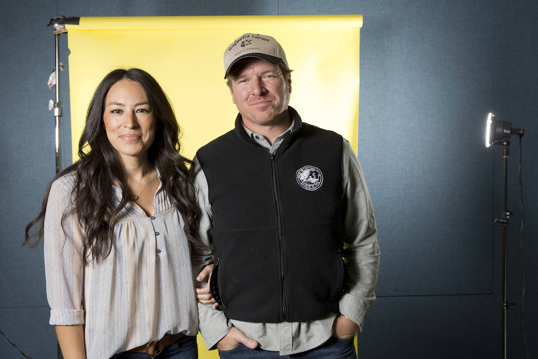 "Joanna and Chip Gaines are the stars of the home improvement show ""Fixer Upper"" on HGTV. (Brian Ach/Invision/AP)"