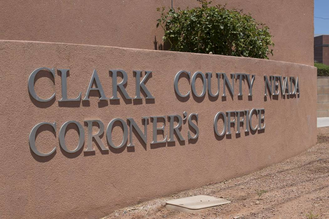 The Clark County Coroner and Medical Examiner office at 1704 Pinto Lane in Las Vegas (Richard Brian/Las Vegas Review-Journal) @vegasphotograph