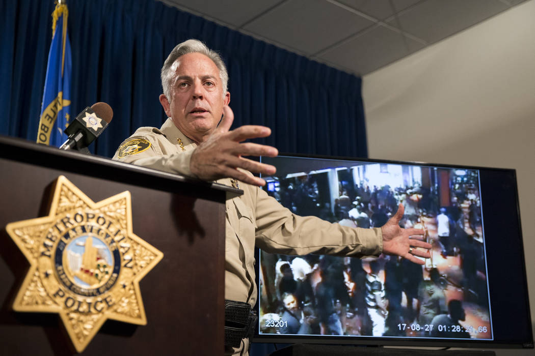 Image result for las vegas police chief chief lombardo images