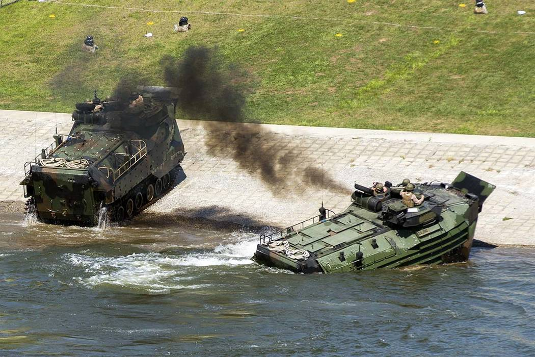 Training Accident Leaves 15 US Marines Injured at Camp Pendleton